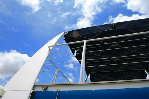 Roof Of Cruise Vessel Upper Deck