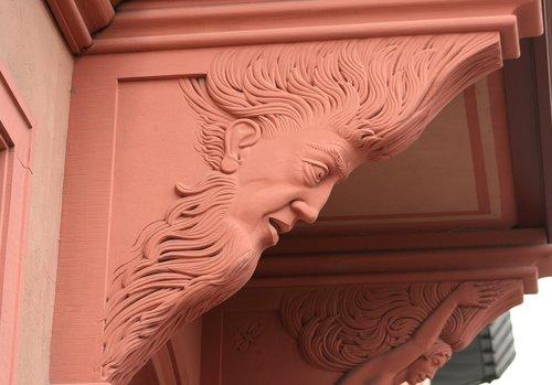 roof support  sculpture  stonemason work