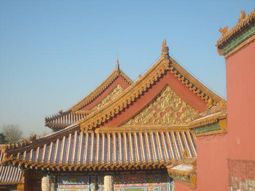 Roof Tops Forbidden City