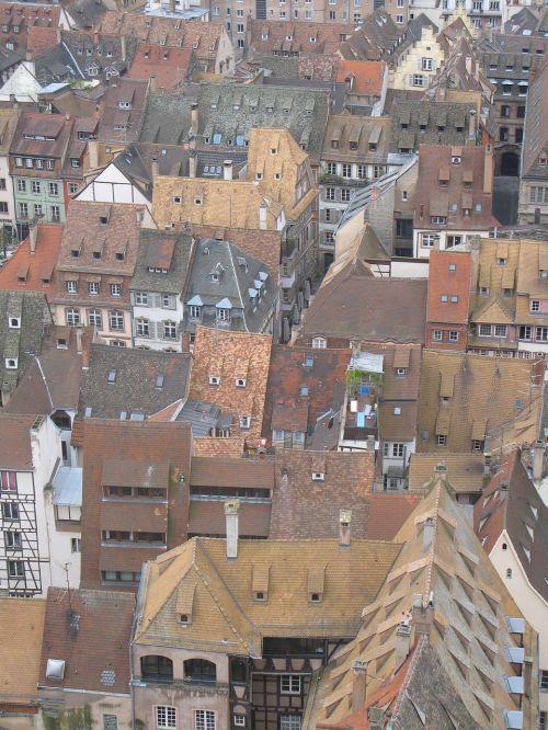 roofs strasbourg france