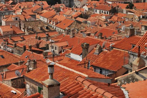 roofs roof tiles red