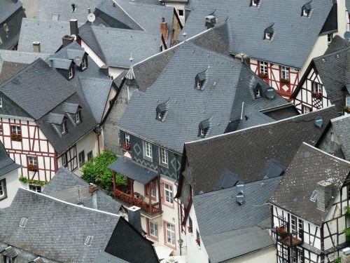 roofs schieferdaecher fachwerkhäuser