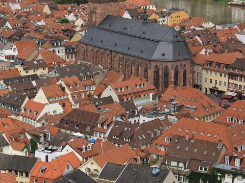 roofs germany view