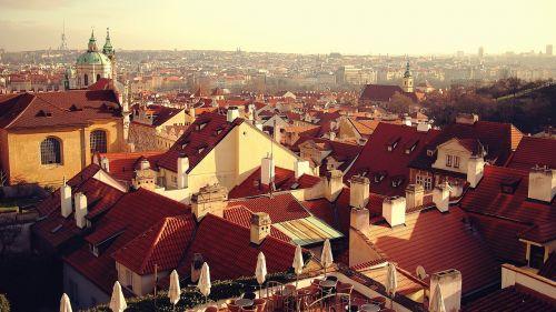 rooftops buildings houses