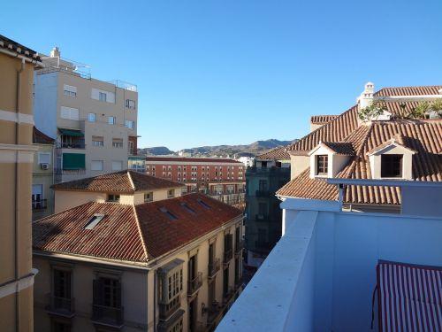 rooftops buildings spain