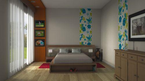 room exhibit bed