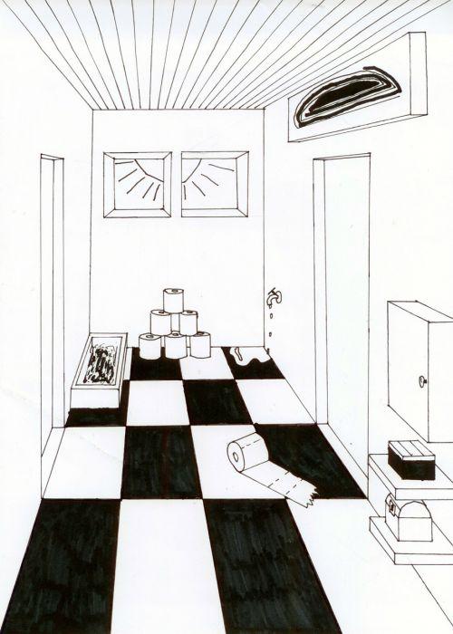 room vanishing point litter box
