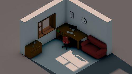 room  isometry  isometric image