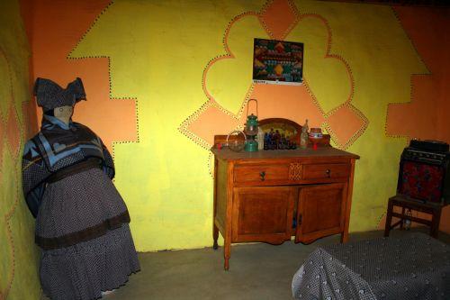 Room Inside Basotho House