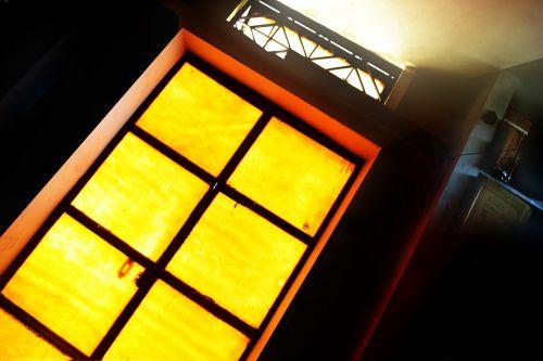 Room With Yellow Door
