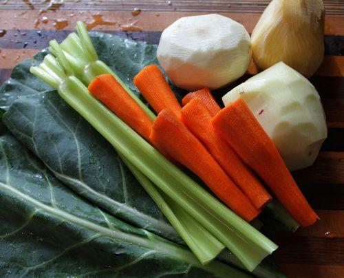 root vegetables collard greens celery