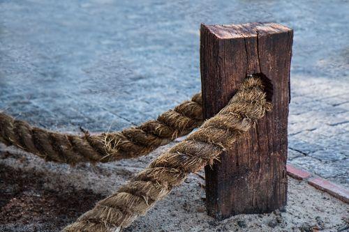 rope fasten steadfast