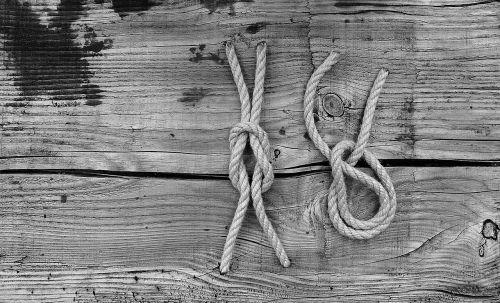 rope ropes knots