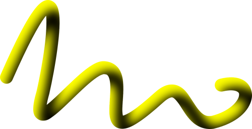 rope yellow rolled