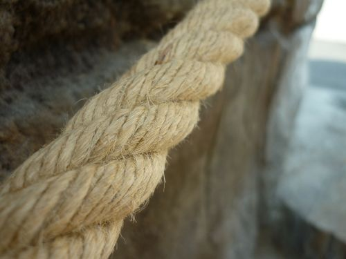 rope outside rope bridge