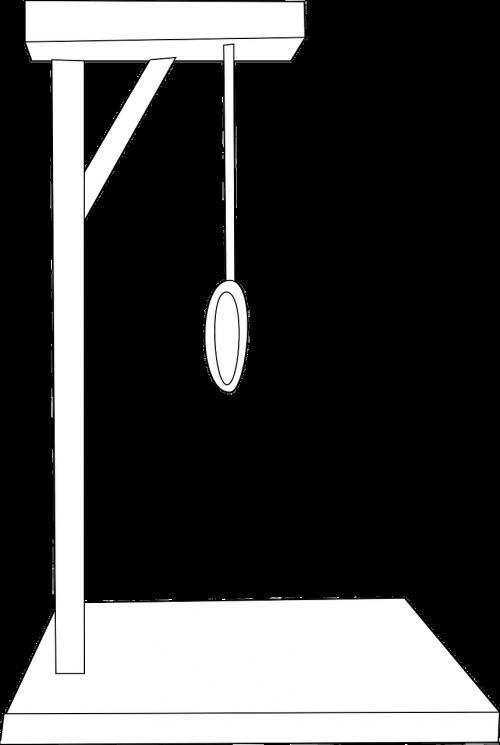 rope hanging gallows