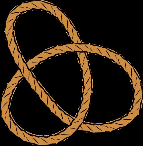 rope knots pretzel
