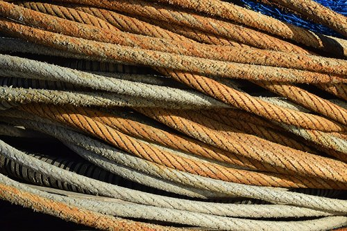 rope  coil  texture