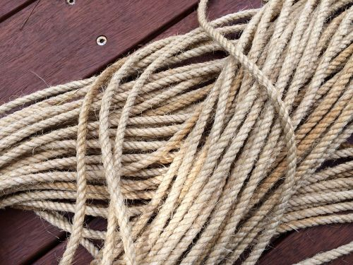 rope cord line
