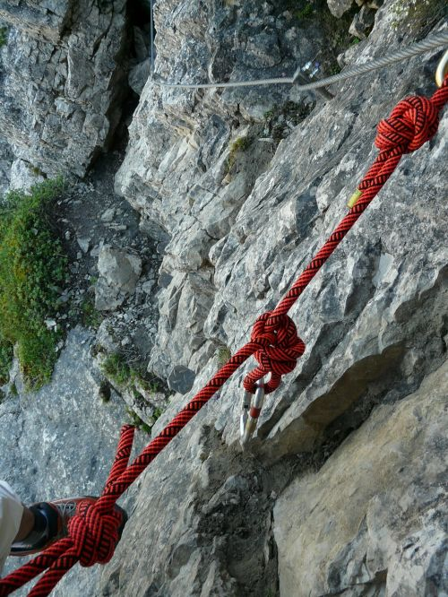 rope climbing rope unmounted