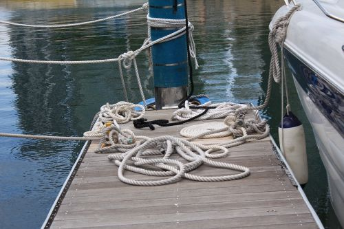 rope bed yacht