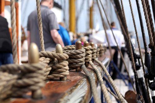 rope gorch fock training ship