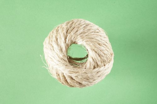 rope knitting sisal