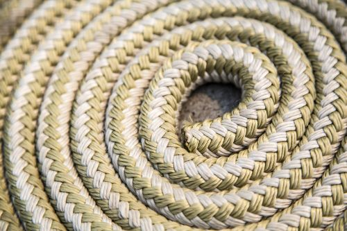 rope coil boat