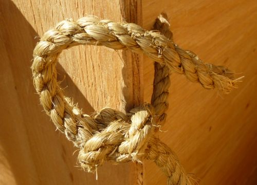 Rope Closeup Detail Knot
