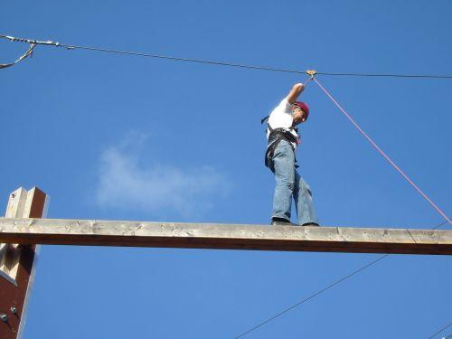 rope types climb sky