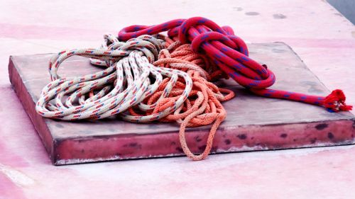 ropes knot fishing ropes