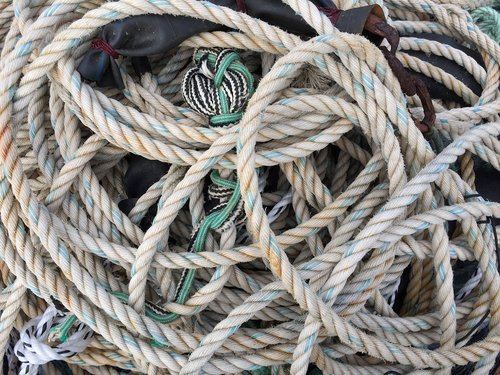 ropes  confusion  dew