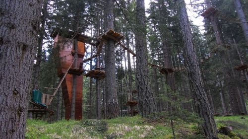 ropes course course images italy