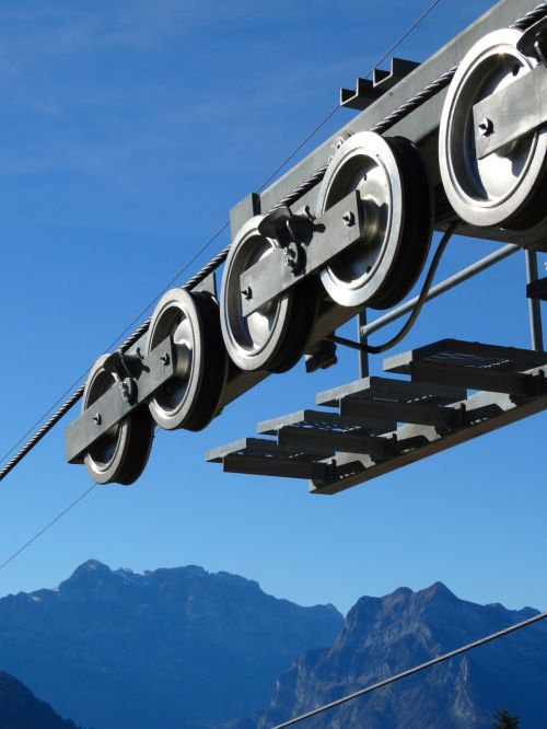 ropeway technology roll rope roll