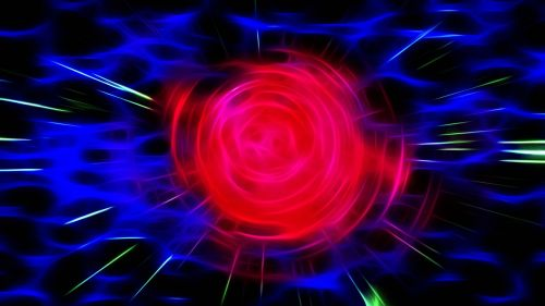 rosa abstract fractal
