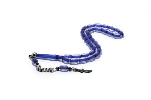 rosary blue rosary sword