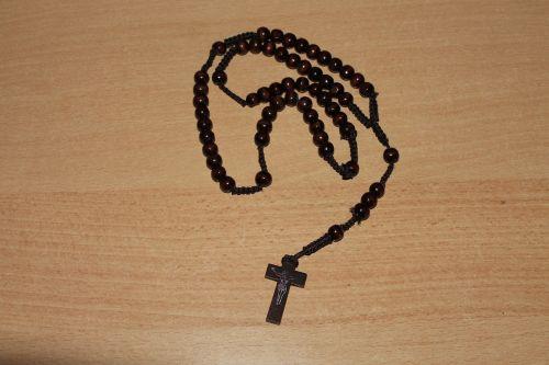 rosary religion cross
