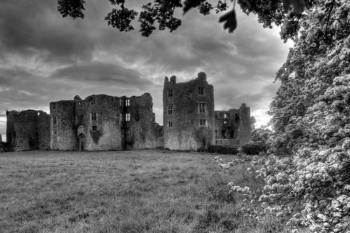 roscommon  ireland  castle ruin