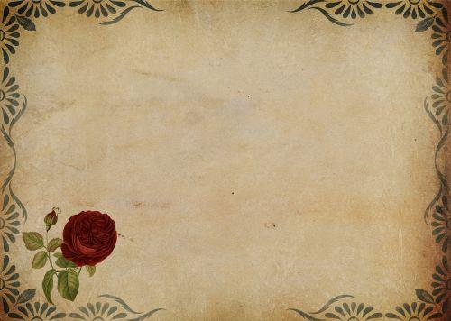 rose frame background image