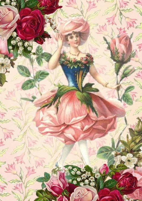 rose fairy fantasy