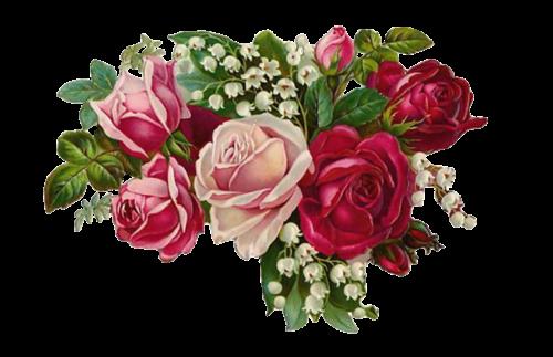 rose vintage bouquet