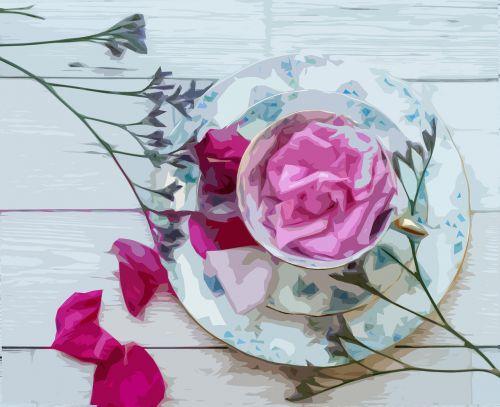 rose flower romance