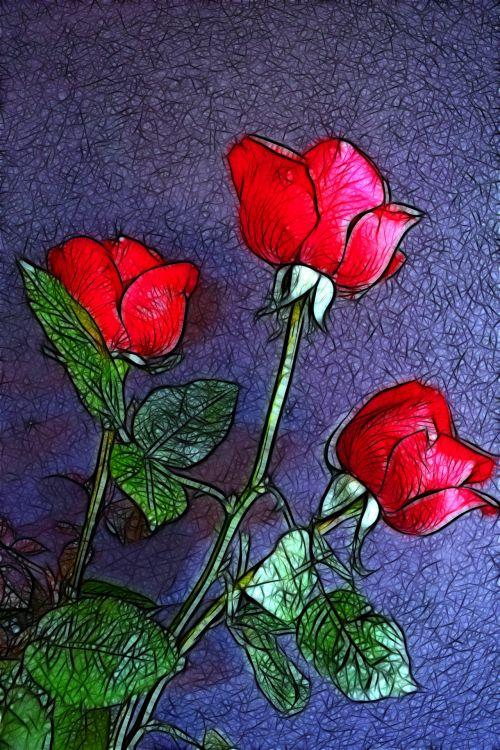 Rose In Pose 39