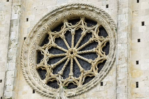 rose window duomo firm