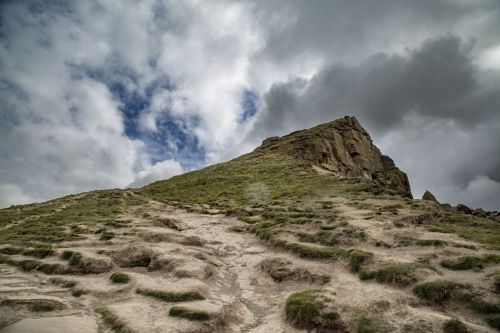 Roseberry Topping Hill In England