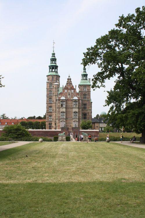 rosenborg castle copenhagen capital