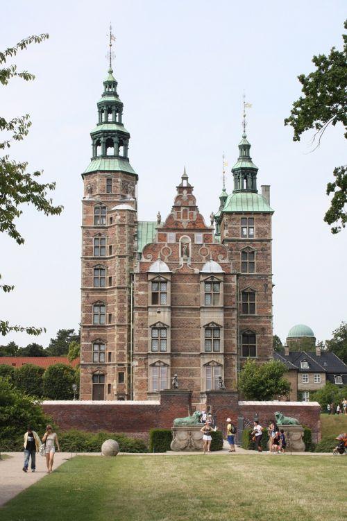 rosenborg castle denmark places of interest