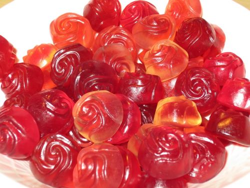 roses candy nibble