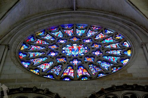 rosette cathedral art