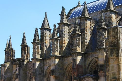 rosslyn chapel gothic architecture scotland